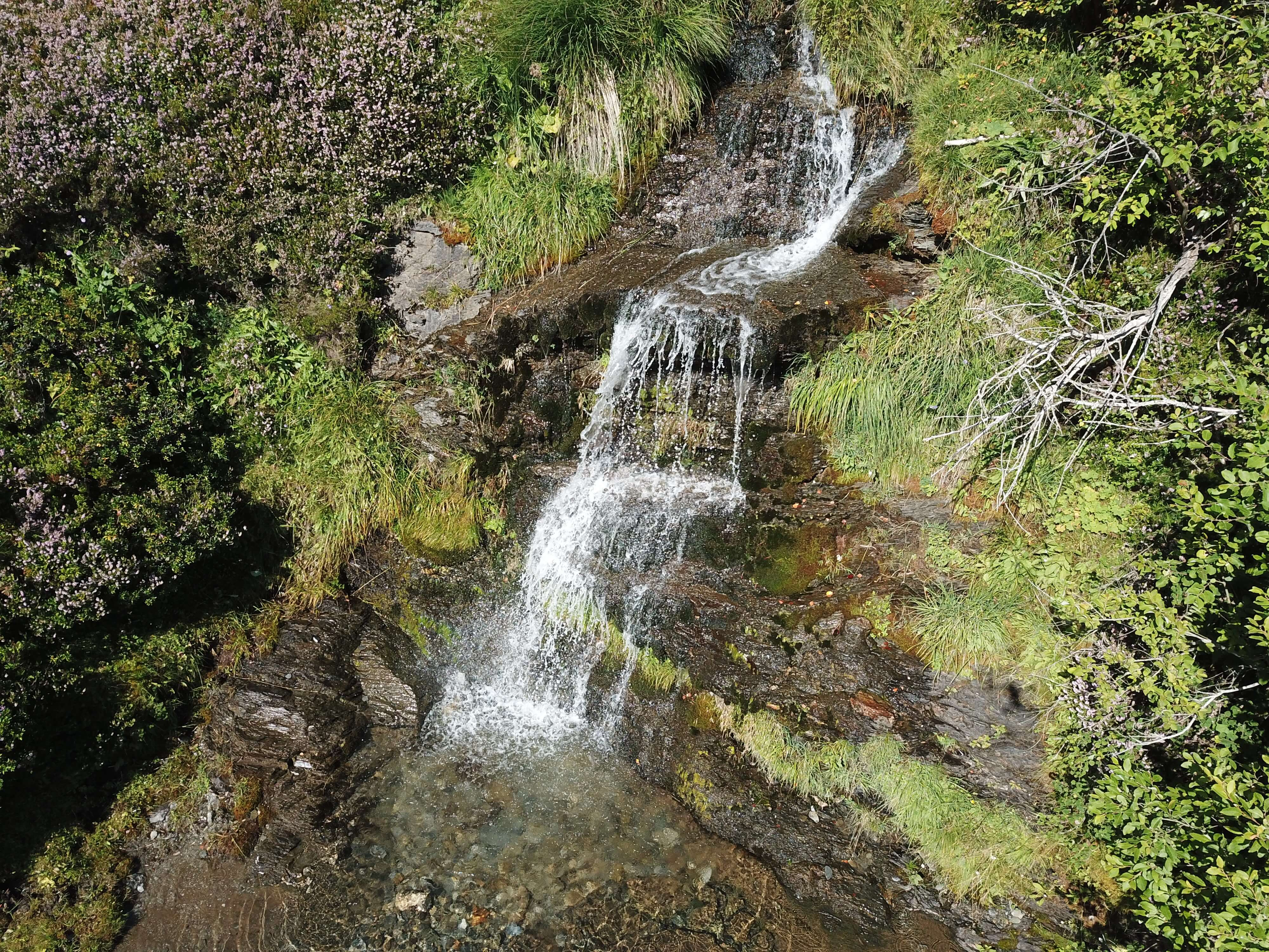 Waterfall in the french Pyrenees
